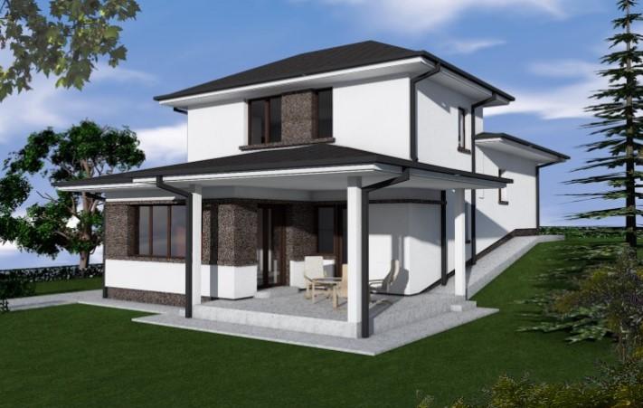 Vila Eda – cel mai cautat model de casa din Good Residence