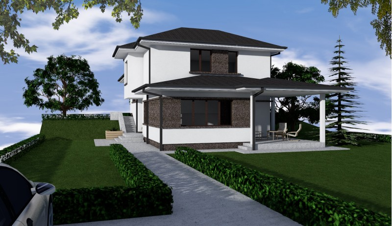 Casa 4 camere, Model Eda, Good Residence